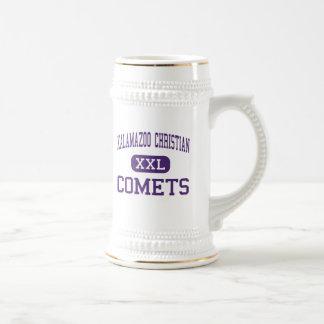 Kalamazoo Christian - Comets - High - Kalamazoo Beer Steins