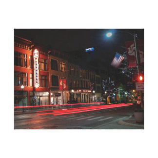 Kalamazoo Lights Gallery Wrapped Canvas