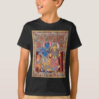 KALAMKARI RADHA KRISHNA PAINTING T-Shirt