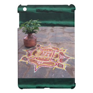 Kalas Vase swastika rangoli indian wedding Symbols Cover For The iPad Mini
