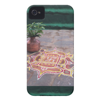 Kalas Vase swastika rangoli indian wedding Symbols iPhone 4 Case
