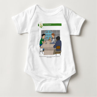 Kale - Because Wellness With Book Baby Bodysuit