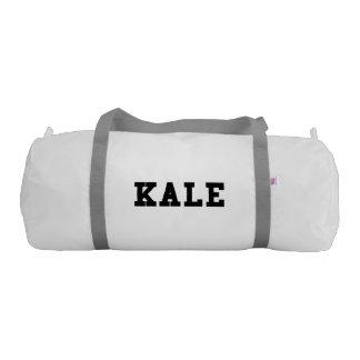Kale College Font Funny Gym Bag