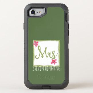 Kale Color Trend for MRS OtterBox Defender iPhone 8/7 Case
