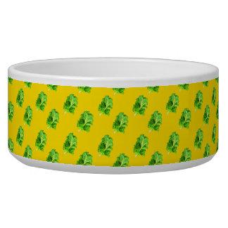 """""""Kale"""" dog bowl"""