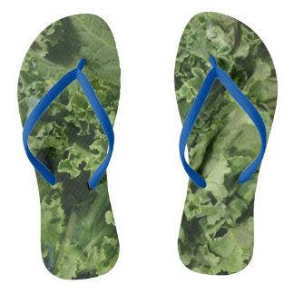 Kale Flip Flops