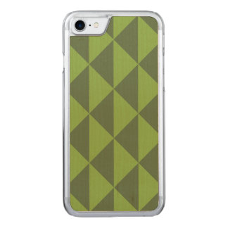 Kale Greenery Arrow Pattern Geometric Carved iPhone 8/7 Case