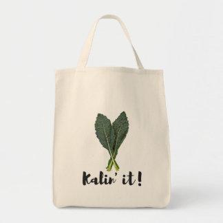 Kale Lovers, Vegetarian, Vegans Tote Bag