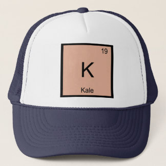 Kale  Name Chemistry Element Periodic Table Trucker Hat