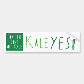 Kale Yes Bumper Sticker