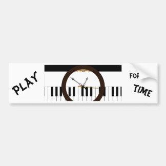 Kaleidescope Musical Clock Bumper Sticker