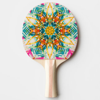 KaleidoMandala v2 Ping Pong Paddle