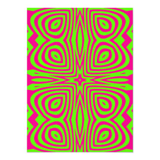 Kaleidoscope 14 Cm X 19 Cm Invitation Card