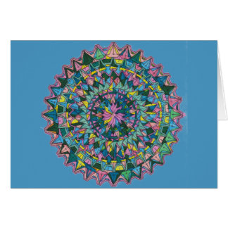Kaleidoscope 1 Horizontal Note Card