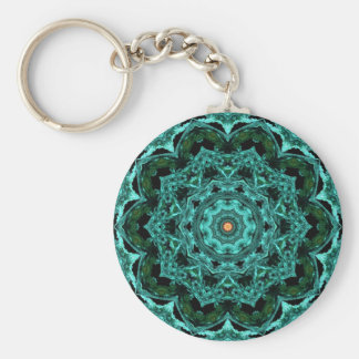Kaleidoscope 62 basic round button key ring