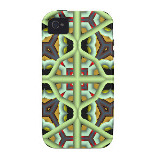 Kaleidoscope Abstract Multicolored Pattern iPhone 4/4S Covers