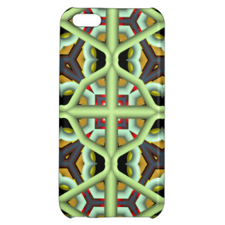 Kaleidoscope Abstract Multicolored Pattern Cover For iPhone 5C