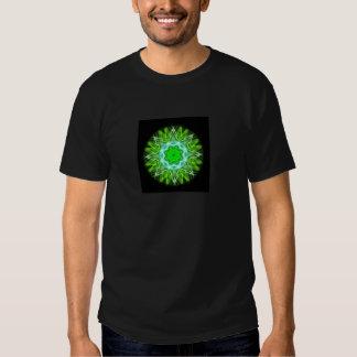 kaleidoscope abstract shape star eye iris science tee shirts