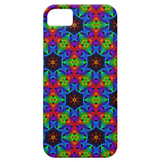 Kaleidoscope and Spirograph Polychromatic Polygons Case For The iPhone 5