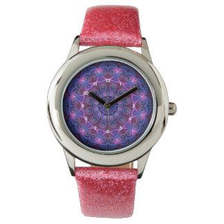 Kaleidoscope Apophysis Mandala Hearts Watch