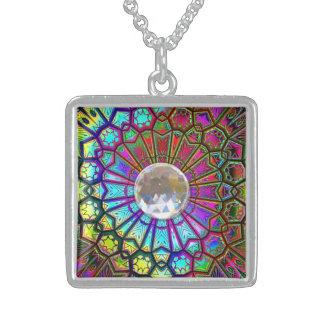 Kaleidoscope Art 14 Necklace Options