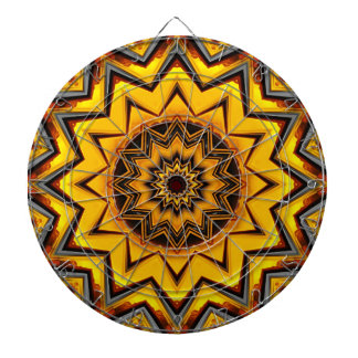 Kaleidoscope Art 15 Dart Board