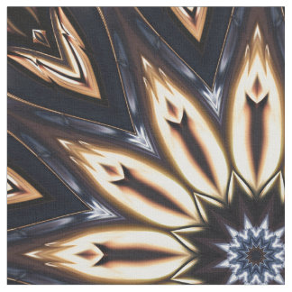 Kaleidoscope Art 16 Custom Fabric