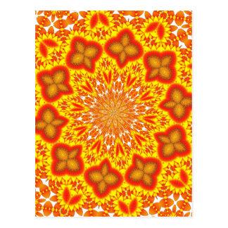 Kaleidoscope Art Postcard