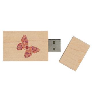 Kaleidoscope Butterfly Flash Drive