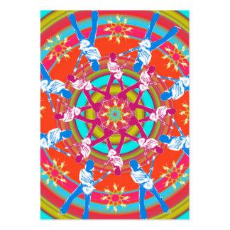 """Kaleidoscope"" Chubby Card Business Cards"