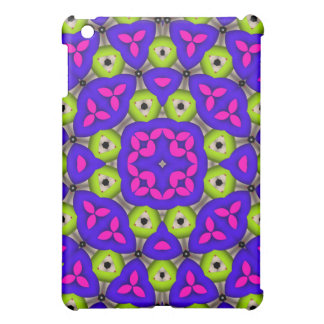 Kaleidoscope colorful abstract pattern iPad mini covers