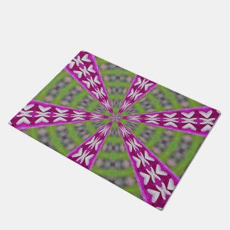 Kaleidoscope Dahlia Doormat