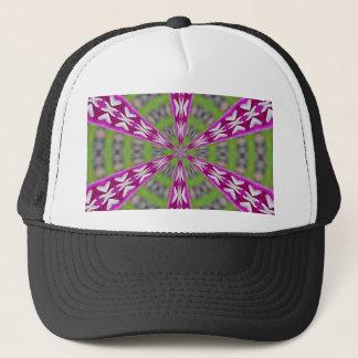 Kaleidoscope Dahlia Trucker Hat