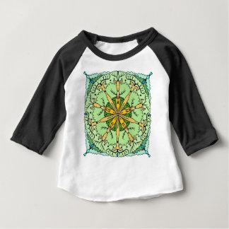 Kaleidoscope deer baby T-Shirt