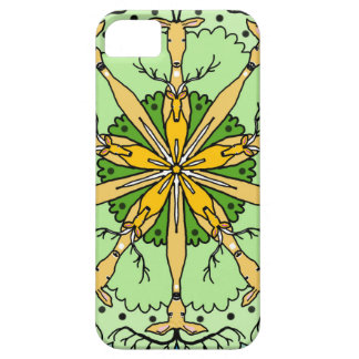 Kaleidoscope deer barely there iPhone 5 case