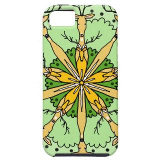 Kaleidoscope deer iPhone 5 case