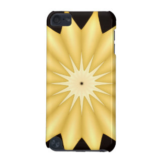 Kaleidoscope Design Bright Yellow Star iPod Touch 5G Case