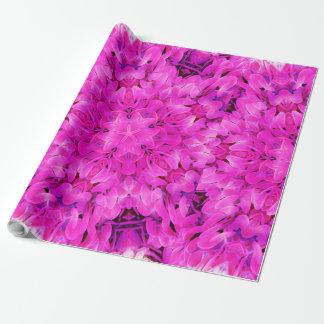 Kaleidoscope Design Hot Pink Floral Art