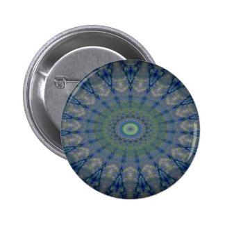 Kaleidoscope design image pinback buttons