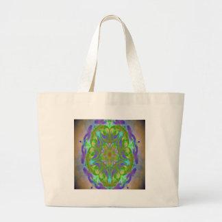 kaleidoscope design image canvas bags