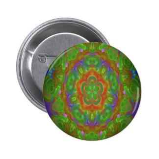 kaleidoscope design image green pins