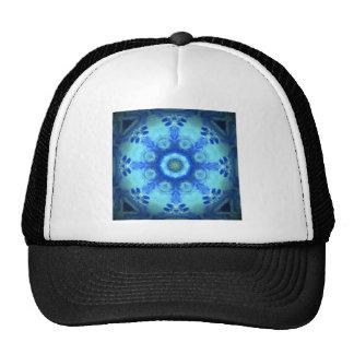 kaleidoscope design image mesh hat