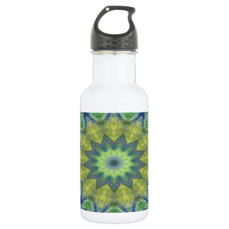 Kaleidoscope design image-made with love 532 ml water bottle