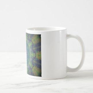 Kaleidoscope design image coffee mugs