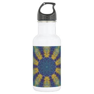 Kaleidoscope design image 532 ml water bottle