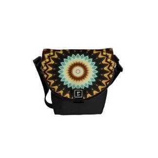 Kaleidoscope Design Messenger Bag