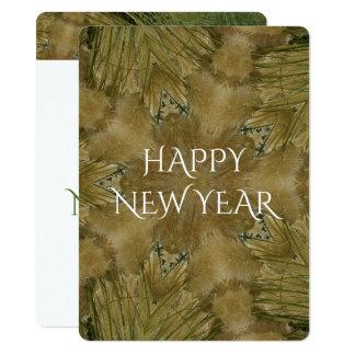Kaleidoscope Design Pampas Grass Star Card