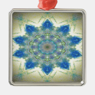 Kaleidoscope design product image-made with love christmas ornament