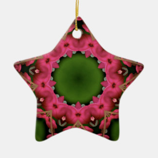 Kaleidoscope design product image-made with love christmas ornaments