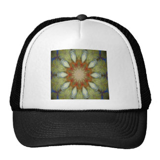 Kaleidoscope design product image-made with love trucker hat